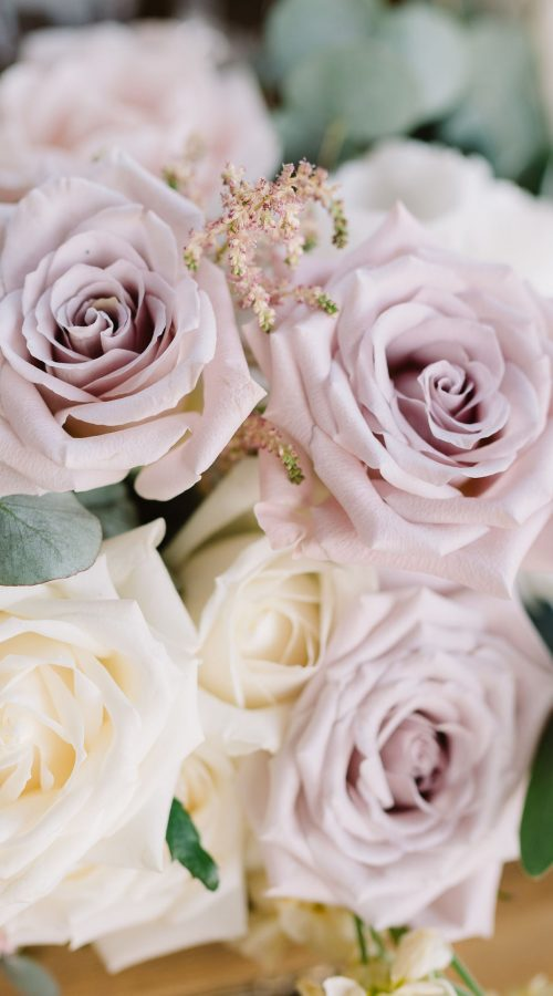 Magnificent wedding floristics. Decorating of a wedding in flowers. Flower background